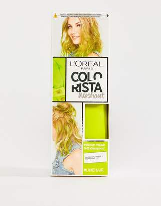 L'Oreal L Oral Pa Colorista Wash Out Hair Colour - Lime Green