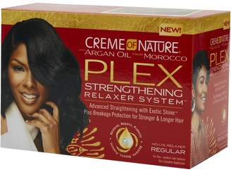 Crème of Nature Argan Oil From Morocco PLEX Strengthening Relaxer System - Regular