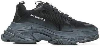 Balenciaga black triple s sneakers black