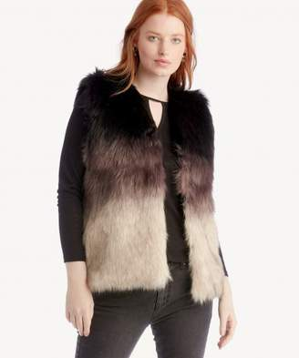 Sole Society Ombre Faux Fur Vest