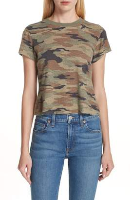 RE/DONE Camo Print Slim Tee