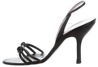 Vera Wang Leather d'Orsay Sandals