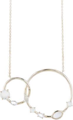Ippolita Rock Candy Double-Circle Pendant Necklace, Flirt