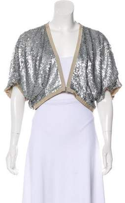 Schumacher Embellished Cropped Cardigan w/ Tags