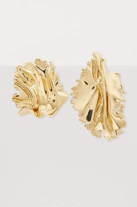 Annelise Michelson Algae clip-on earrings