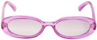 Le Specs Outta Love Lilac Sunglasses