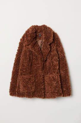 H&M Faux Fur Jacket - Beige