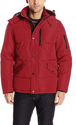 Nautica Men's Polyester Hooded Parka