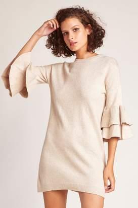 BB Dakota Ruffle Sweater Dress