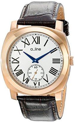 A Line A _ LINE Women 's al-80023-rg-02-br Pyarアナログディスプレイ日本クォーツブラウン腕時計