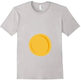 Deviled Egg Halloween Costume T-Shirt wear horned headband