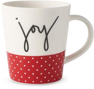 ED Ellen Degeneres Joy Polka Dots Porcelain Mug