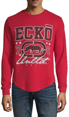 Ecko Unlimited Unltd Mens Crew Neck Long Sleeve Thermal Top