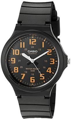 Casio Men's 'Easy To Read' Quartz Black Casual Watch (Model: MW240-4BV)