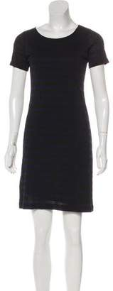 Theory Striped Mini Dress