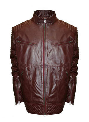 Asstd National Brand Raw X MOTO Leather Jacket - Big & Tall