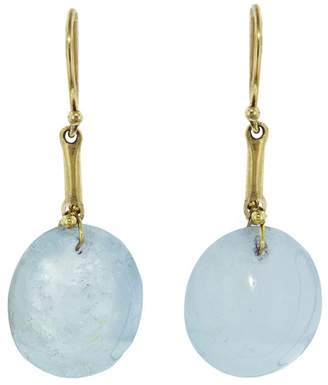 Ten Thousand Things Aquamarine Berry Drop Earrings