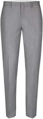 Topman Grey Skinny Fit Suit Trousers