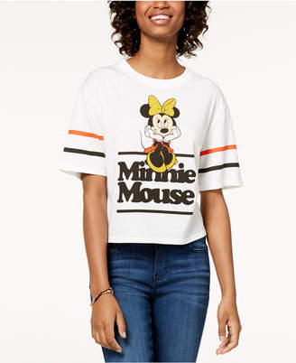 Mighty Fine Mad Engine Juniors' Minnie Mouse Graphic T-Shirt