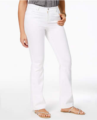 Style&Co. Style & Co Stitch Pocket Flared Jeans, Created for Macy's