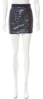 Elizabeth and James Sequined Mini Skirt