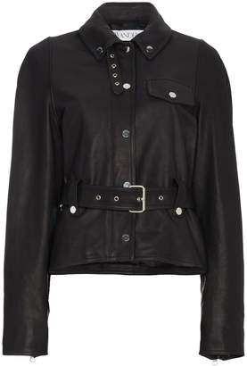J.W.Anderson Belted Leather Jacket