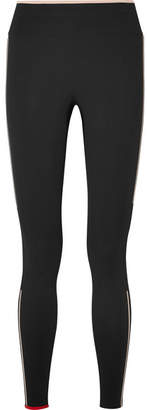 Milla Vaara Stretch-knit Leggings - Black