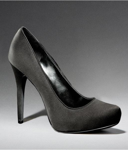 Matte Satin High Heels
