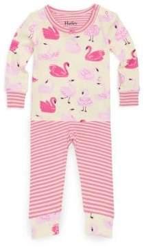 Hatley Baby's Dancing Swans Pajama Set