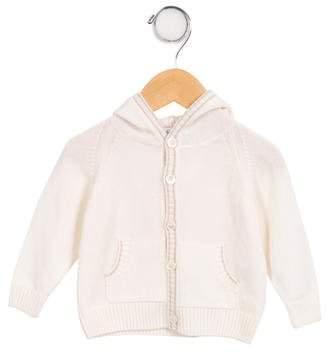 Loro Piana Kids' Hooded Cashmere Cardigan