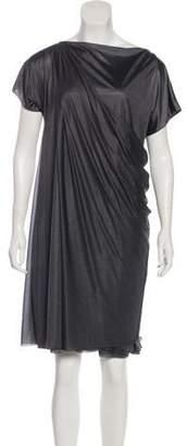 Bottega Veneta Mini Draped Dress