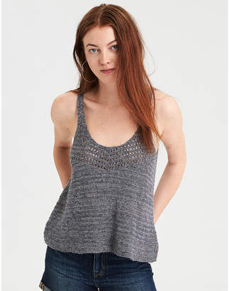 American Eagle AE Textured Tank Top