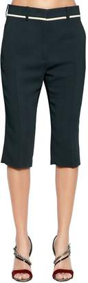 N°21 Stretch Light Cady Knee-Length Pants
