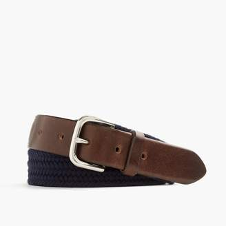 J.Crew Braided web belt
