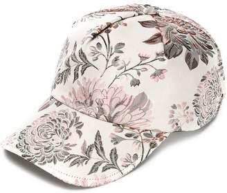 Reality Studio floral print cap