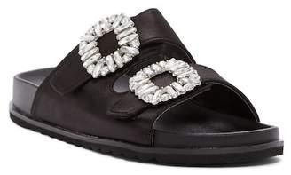 Liliana Vora Embellished Slide Sandal