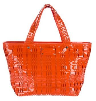 Kate Spade Kate Spade New York Woven Patent Leather Tote
