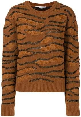 Stella McCartney stitching details jumper