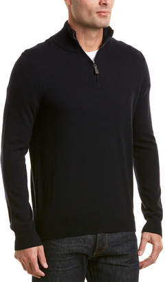 Phenix Cashmere 1/4-Zip Mock Sweater