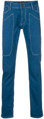 Jeckerson slim stitched jeans