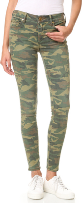 True Religion Halle Mid Rise Super Skinny Jeans $179 thestylecure.com