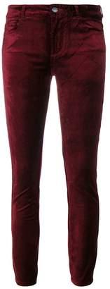 Paige skinny velvet trousers