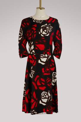 Marni 3/4 sleeve midi dress