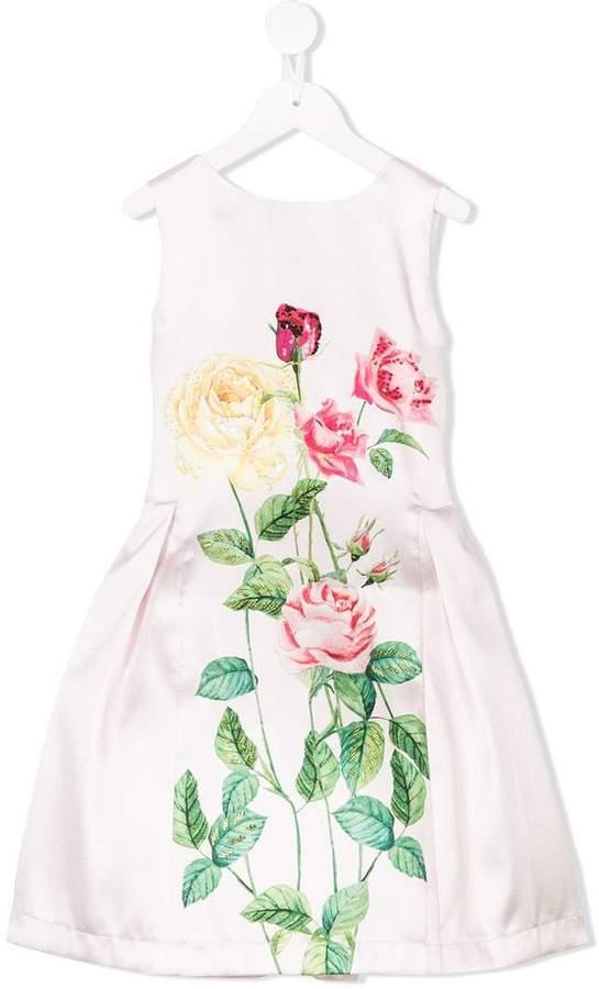 Love Made Love floral print sleeveless dress