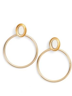 Women's Kate Spade New York Bright & Bold Hoop Earrings $68 thestylecure.com