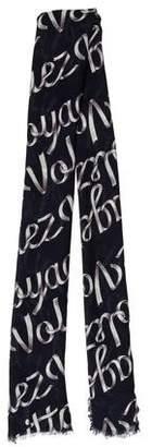 Louis Vuitton Volez Voguez Voyagez Ribbon Stole