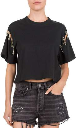 The Kooples Safety Pin Tee