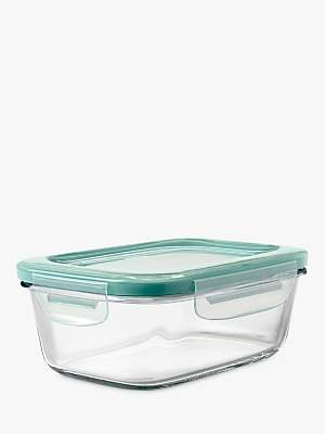 OXO Good Grips SNAP Glass Storage Container, Clear, 800ml