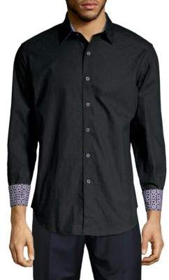 Robert Graham Bayside Casual Long-Sleeve Cotton Shirt