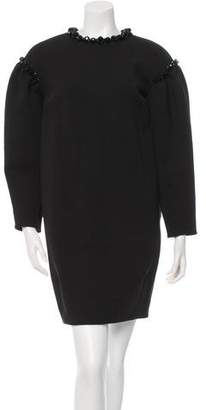Simone Rocha Embellished Neoprene Dress w/ Tags